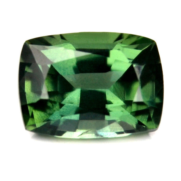 0.64 ct Certified Natural Green Sapphire