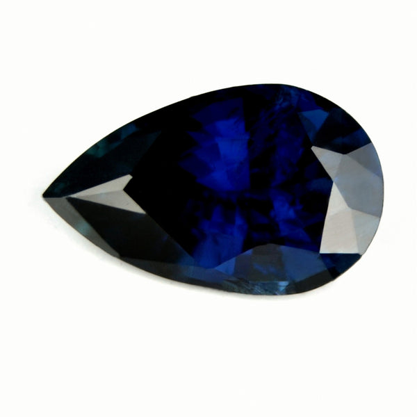 Certified Natural Unheated 1.12ct Royal Blue Sapphire - sapphirebazaar - 1
