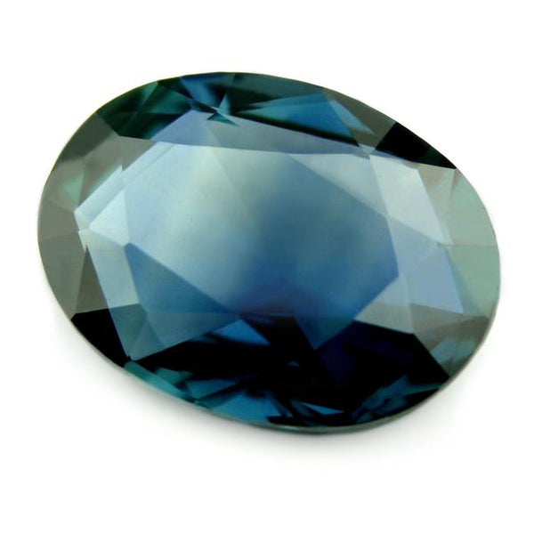 0.88ct Certified Natural Blue Sapphire
