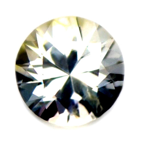 4.11 mm Certified Natural White Sapphire