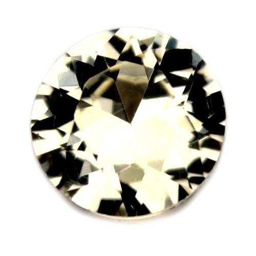4.51 mm Certified Natural White Sapphire