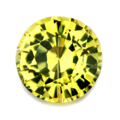 0.38 ct Certified Natural Yellow Sapphire