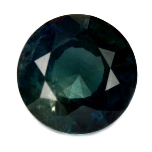 6.06 mm Certified Natural Teal Sapphire
