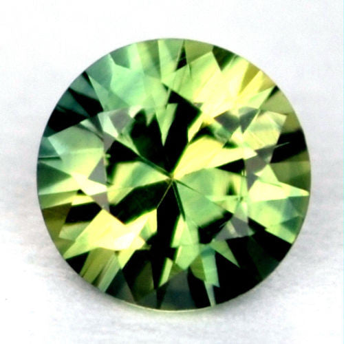 Certified 4.60mm Round Natural Sapphire 0.42ct Multi Color Vvs Clarity Madagascar Gem - sapphirebazaar - 1
