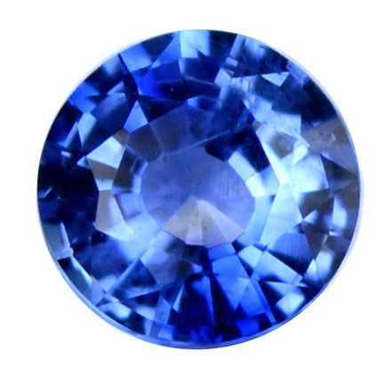 0.27 ct Certified Natural Blue Sapphire