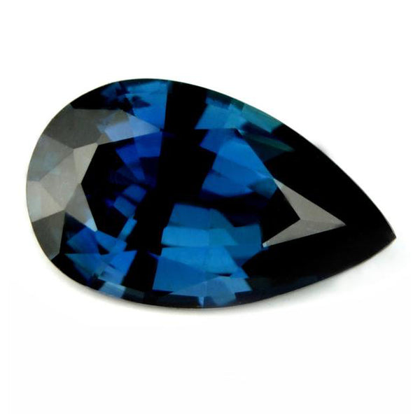 0.89 ct Certified Natural Blue Sapphire