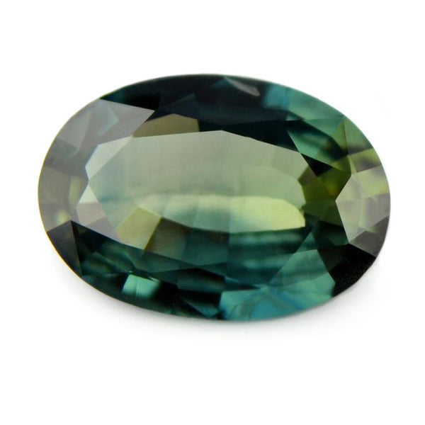 0.74 ct Certified Natural Green Sapphire
