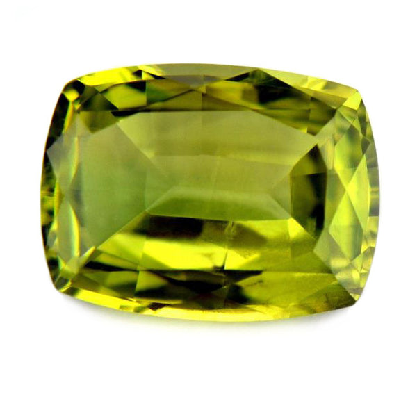 0.72 ct Certified Natural Green Sapphire