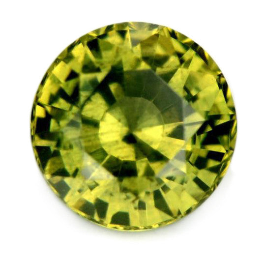 0.75 ct Certified Natural Green Sapphire