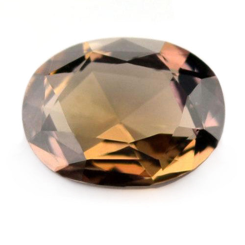0.75 ct Certified Natural Brown Sapphire