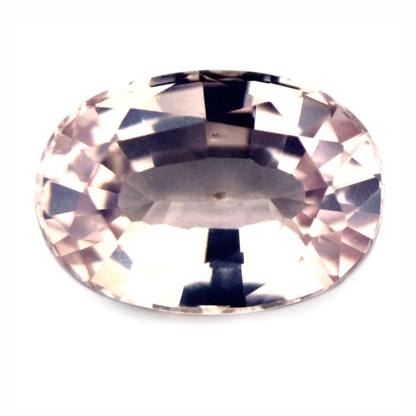 0.46ct Certified Natural Peach Sapphire