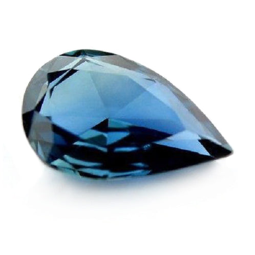 0.85 ct Certified Natural Blue Sapphire