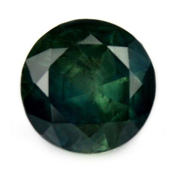 1.24ct Certified Natural Green Sapphire