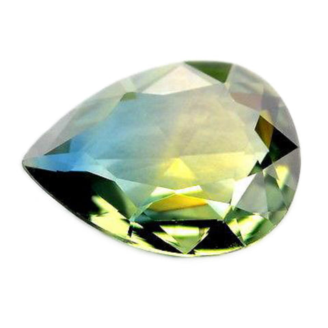 0.81ct Certified Natural Multicolor Sapphire