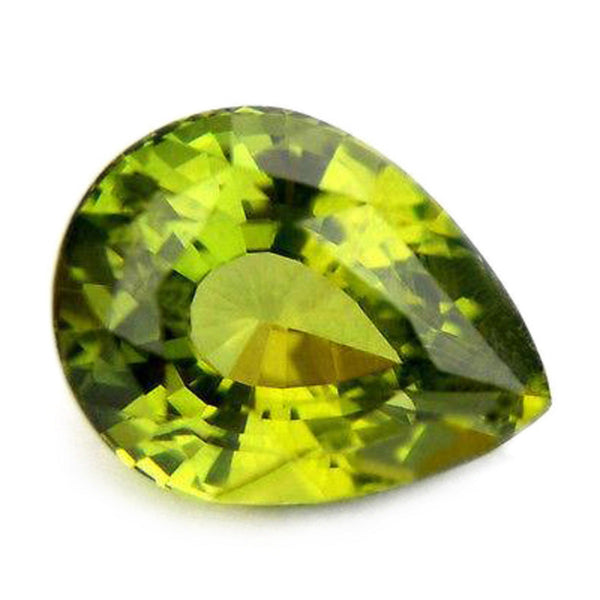 1.69ct Certified Natural Green Sapphire