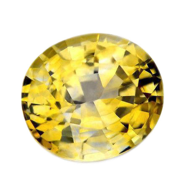 1.30cts Certified Natural Yellow Sapphire