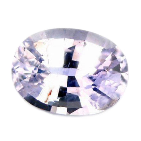 0.92cts Certified Natural White Sapphire
