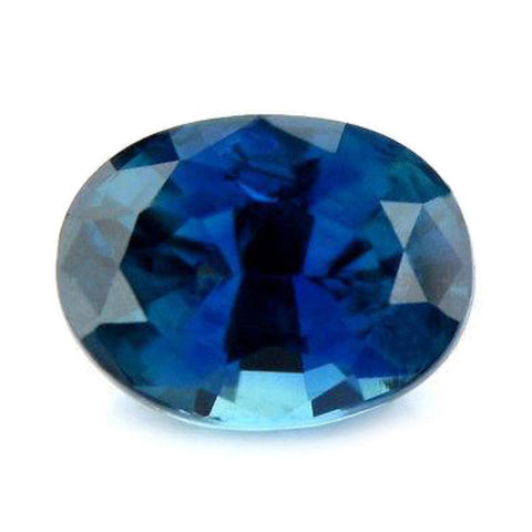 0.97ct Certified Natural Blue Sapphire