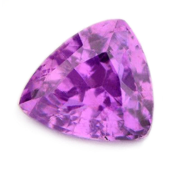 0.81 ct Certified Natural Purple Sapphire