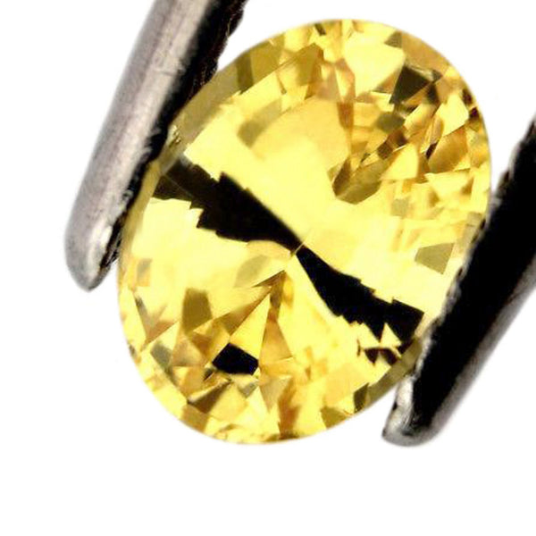 1.05ct Certified Natural Yellow Sapphire