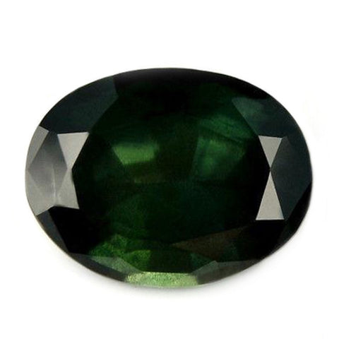 2.20ct Certified Natural Green Sapphire