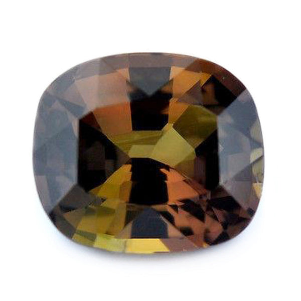 1.14ct Certified Natural Multicolor Sapphire
