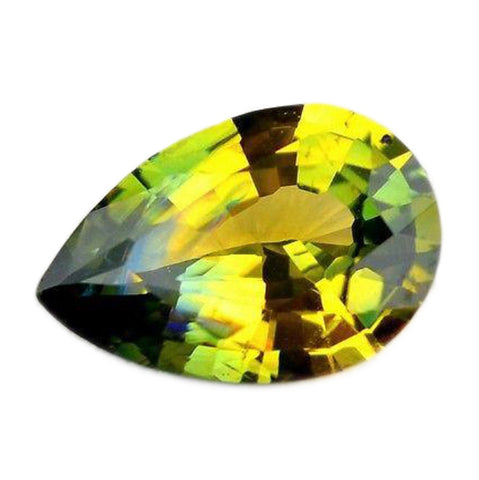 0.80ct Certified Natural Yellow Sapphire