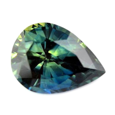 0.82ct Certified Natural Multicolor Sapphire
