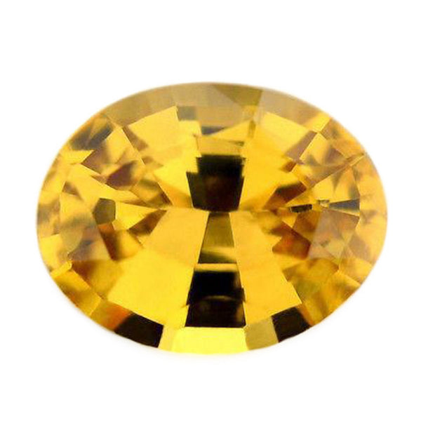 0.81ct Certified Natural Yellow Sapphire