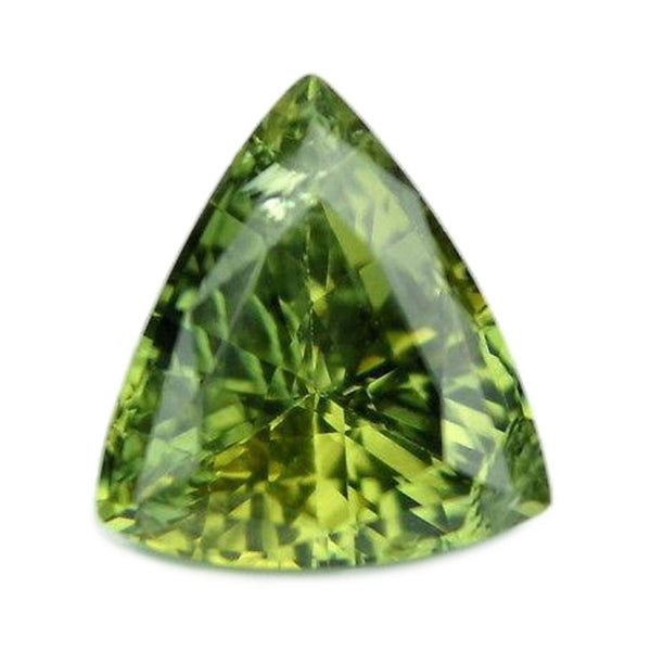 1.46ct Certified Natural Green Sapphire