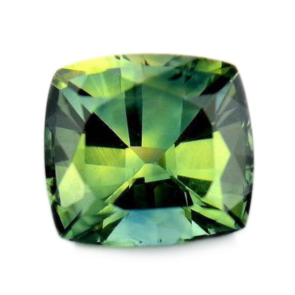0.56ct Certified Natural Green Sapphire