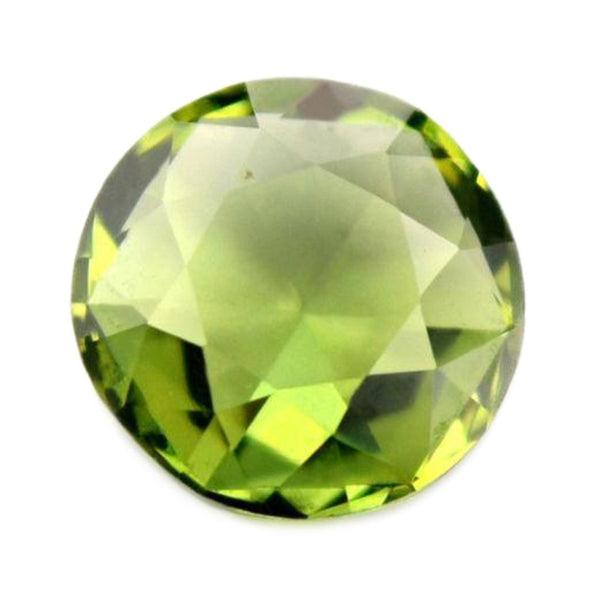 0.57ct Certified Natural Green Sapphire