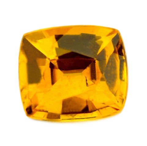0.82ct Certified Natural Yellow Sapphire