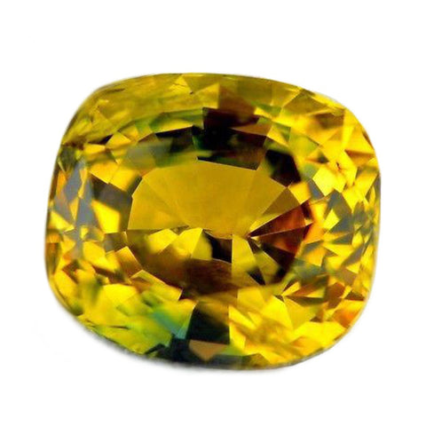 1.39ct Certified Natural Yellow Sapphire