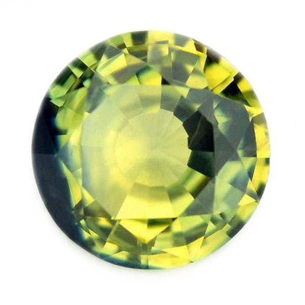 0.76ct Certified Natural Bicolor Sapphire