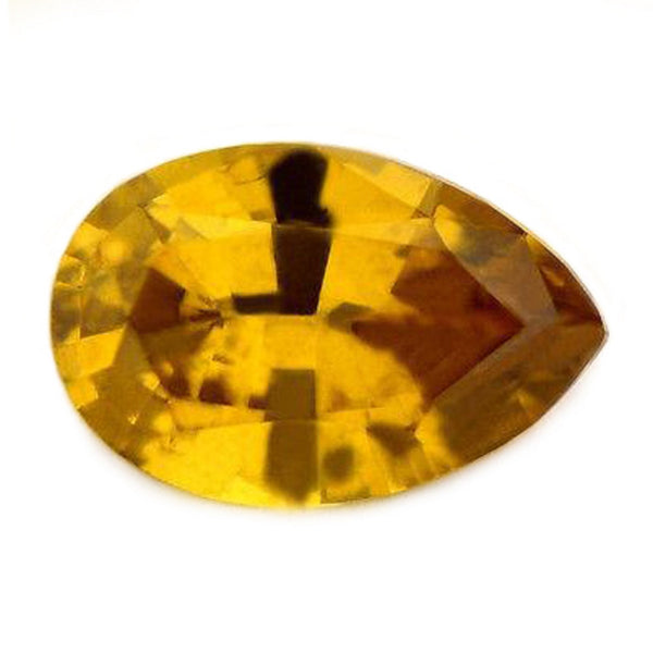 1.07 ct Certified Natural Yellow Sapphire