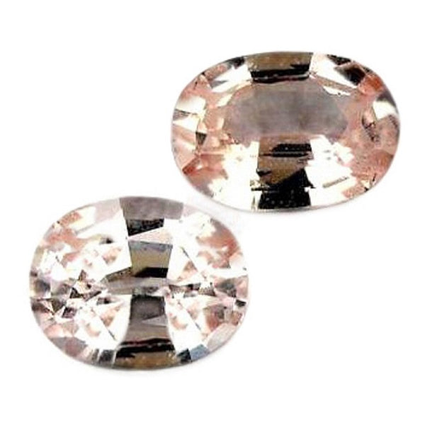 0.50ct Certified Natural Pink Sapphire Matching Pair