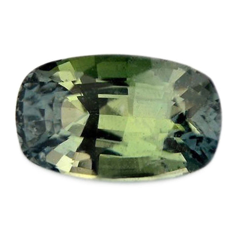 1.61ct Certified Natural Green Sapphire