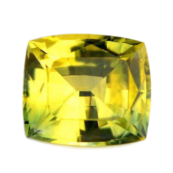 0.74ct Certified Natural Yellow Sapphire