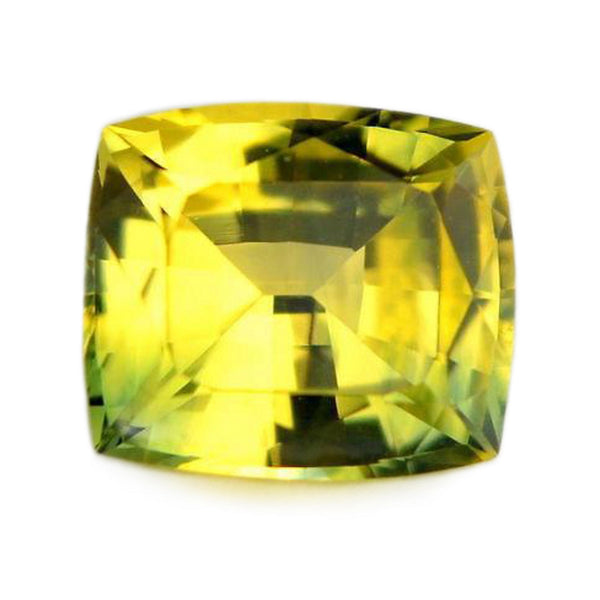 0.75ct Certified Natural Yellow Sapphire