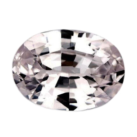 0.95ct Certified Natural White Sapphire