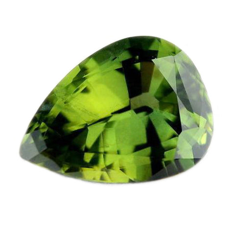 2.34ct Certified Natural Green Sapphire