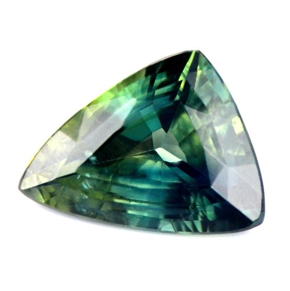 1.46 ct Certified Natural Teal Sapphire