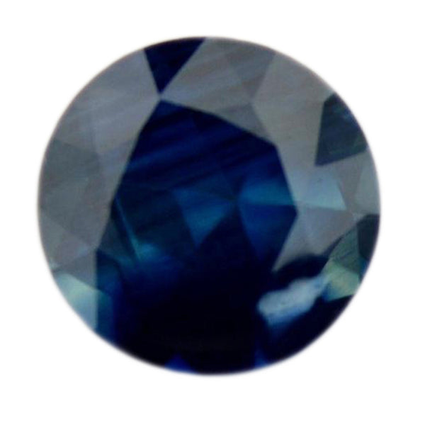 0.54 ct Certified Natural Blue Sapphire
