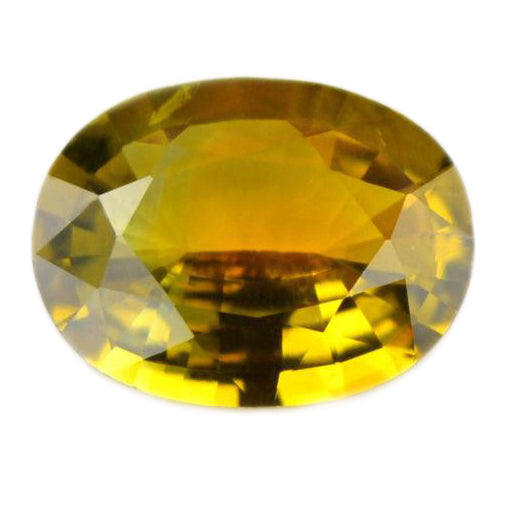 0.93ct Certified Natural Yellow Sapphire