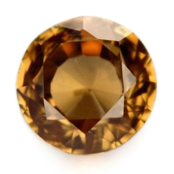 0.73ct Certified Natural Brown Sapphire
