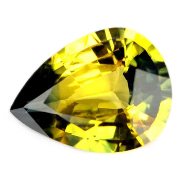 0.65ct Certified Natural Yellow Sapphire