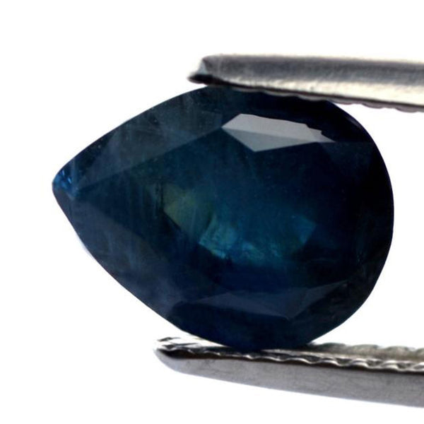 2.80 ct Certified Natural Teal Sapphire