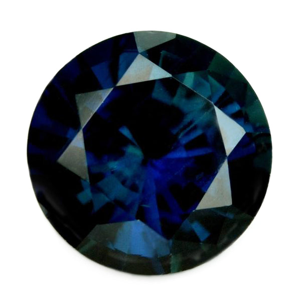 1.08ct Certified Natural Dark Royal Blue Sapphire