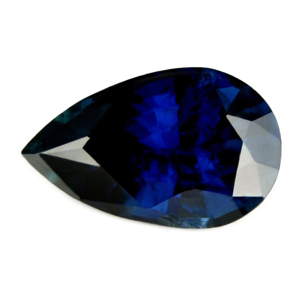1.30ct Certified Natural Blue Sapphire